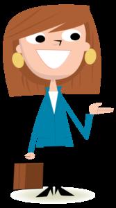 Illustration female adult