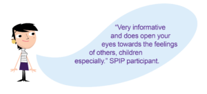 Quote from a parent about how attending a Separated Parents Information Programme helped