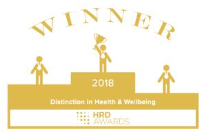 HR Distinction awards certificate